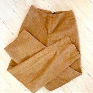 Banana Republic Classic Wide Leg Wool Trousers
